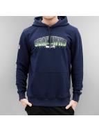 New Era Felpa con cappuccio NFL Fan Seattle Seahawks blu
