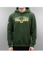 New Era Felpa con cappuccio NFL Fan verde