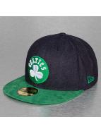 New Era Fitted Denim Suede Boston Celtics 59Fifty bleu