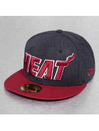 New Era Fitted Heather Ball Miami Heat bleu