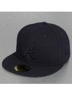 New Era Fitted Tonal Poly Atlanta Braves 59Fifty bleu