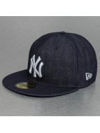 New Era Fitted Denim New York Yankees 59Fifty bleu