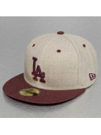 New Era Fitted Heather Mashup LA Dodgers 59Fifty brun