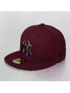New Era Fitted Cap NY Yankees èervená