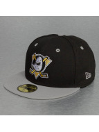 New Era Fitted Cap NHL Team Ducks Classic Anaheim èierna