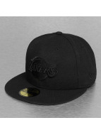 New Era Fitted Cap NBA Black On Black LA Lakers 59Fifty èierna