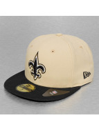 New Era Fitted Cap NFL Team New Orleans Saints beige