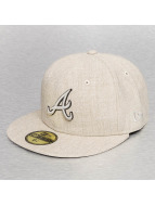 New Era Fitted Cap Pop Atlanta Braves beige