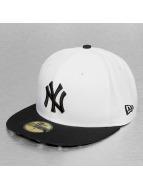 New Era Fitted Cap White Liberty NY Yankees bianco