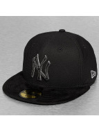 New Era Fitted Cap Diamond Suede NY Yankees black