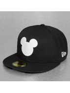 New Era Fitted Cap Mickey Mouse Silhouette black