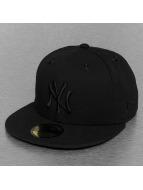 New Era Fitted Cap MLB NY Yankees Star Crown black