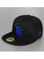 New Era Fitted Cap MLB Basic Anaheim Angels black