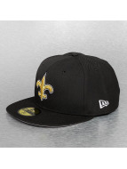 New Era Fitted Cap On Field 15 Sideline New Orleans Saints black