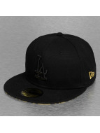 New Era Fitted Cap Leopard Los Angeles Dodgers black