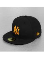 New Era Fitted Cap Seasonal Basic MLB NY Yankees 59Fifty black