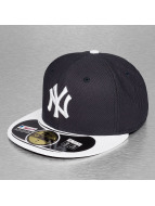New Era Fitted Cap Diamond Era blau