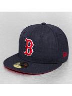 New Era Fitted Cap Heather Team Boston Red Sox blau