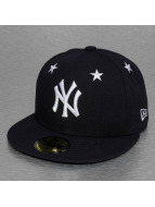 New Era Fitted Cap MLB NY Yankees Star Crown blau