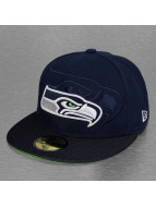 New Era Fitted Cap NFL Seattle Seahawks Sideline blau