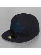 New Era Fitted Cap Team Rubber Logo Cleveland Cavaliers blau