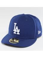New Era Fitted Cap Authentic Performance Low Crown LA Dodgers blau