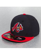 New Era Fitted Cap Authentic Performance Atlanta Braves 59Fifty blau