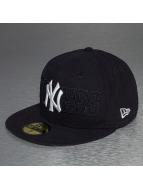 New Era Fitted Cap Tonal Word NY Yankees 59Fifty blauw