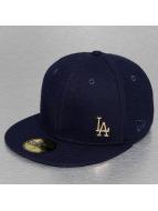 New Era Fitted Cap Melton Metal LA Dodgers blauw