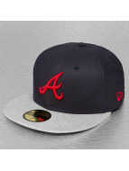 New Era Fitted Cap Jersey Diamond Atlanta Braves blauw