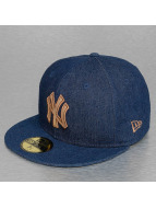 New Era Fitted Cap Rustic NY Yankees blauw