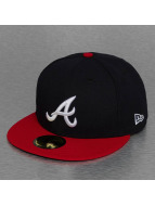 New Era Fitted Cap TSF Atlanta Braves blauw