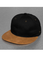 New Era Fitted Cap Canvas Suede blauw