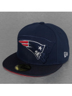 New Era Fitted Cap NFL New England Patriots Sideline blauw