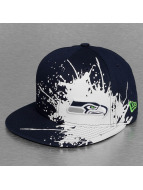 New Era Fitted Cap Splatways Seattle Seahawks blauw