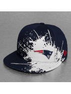 New Era Fitted Cap Splatways New England Patriots blauw