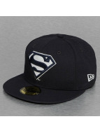 New Era Fitted Cap Glow In The Dark Superman blauw