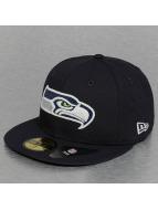 New Era Fitted Cap Glow In The Dark Seattle Seahawks blauw