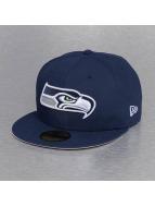 New Era Fitted Cap On Field 15 Sideline Seattle Seahawks blauw