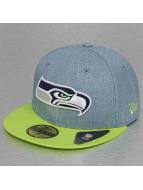 New Era Fitted Cap Heather Team Seattle Seahawks blauw