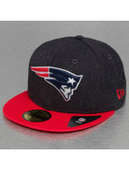 New Era Fitted Cap Heather Team New England Patriots 59Fifty blauw