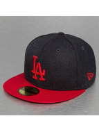 New Era Fitted Cap Heather Team LA Dodgers 59Fifty blauw
