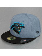 New Era Fitted Cap Heather Team Carolina Panthers 59Fifty blauw