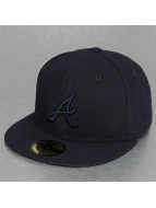 New Era Fitted Cap Tonal Poly Atlanta Braves 59Fifty blauw