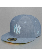 New Era Fitted Cap All Over Chambrey New York Yankees blauw