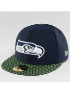 New Era Fitted Cap NFL On Field Seattle Seahawks 59Fifty blauw