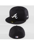 New Era Fitted Cap League Essential Atlanta Braves 59Fifty blauw