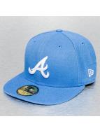 New Era Fitted Cap League Basic Atlanta Braves 59Fifty blauw