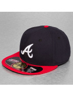 New Era Fitted Cap Authentic Performance Atlanta Braves59Fifty blauw