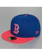 New Era Fitted Cap Emea Ilumipopz Boston Red Sox blu